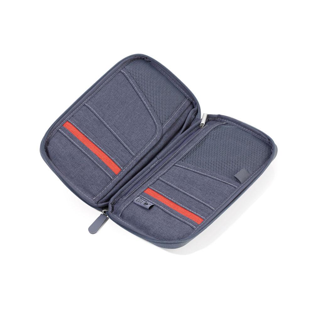 TROIKA | RFID屏障護照夾 (灰色)
