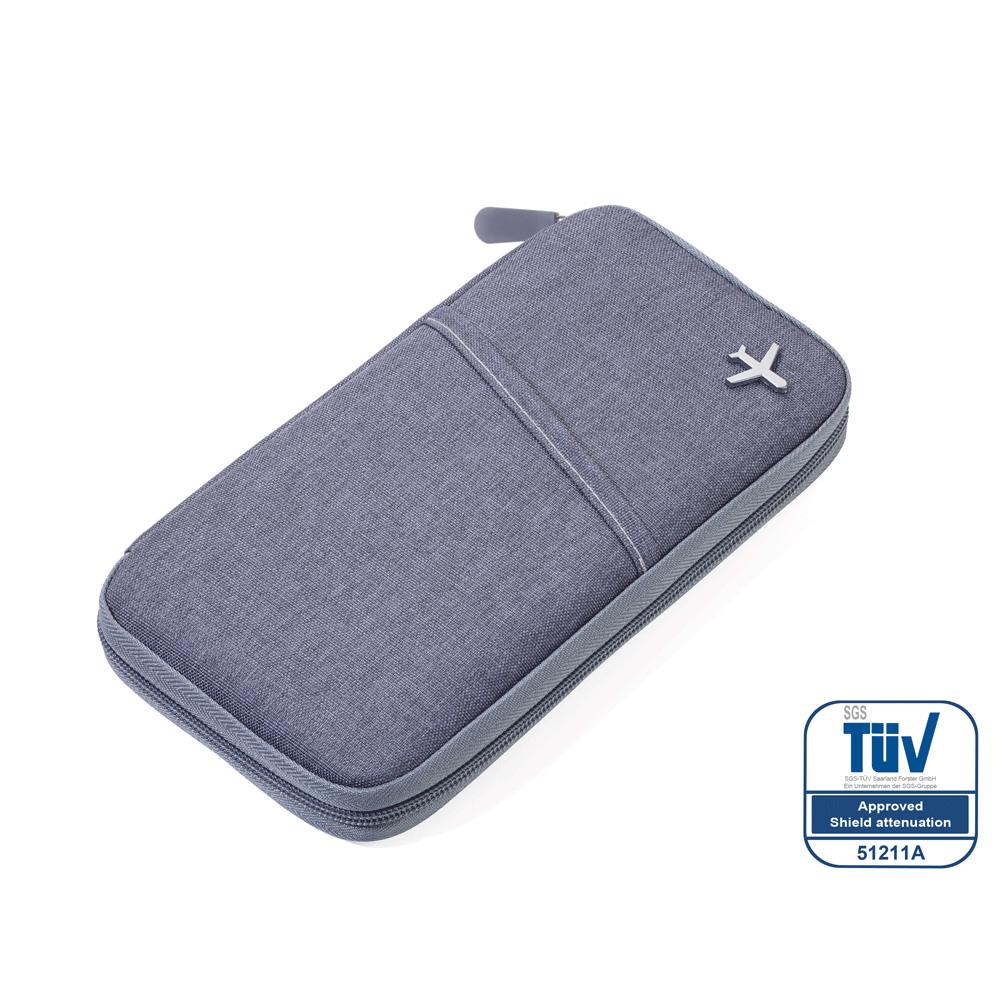 TROIKA   RFID屏障護照夾 (灰色)