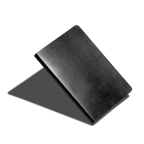 ZEQUENZ|360° 背靠背筆記本 (黑色 /橫線內頁)