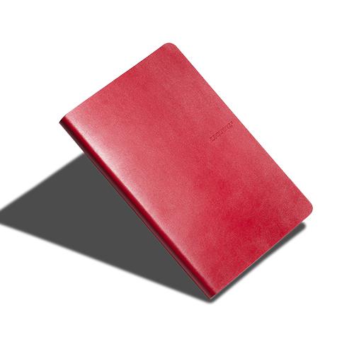 ZEQUENZ|360° 背靠背筆記本 (紅色/方眼內頁)