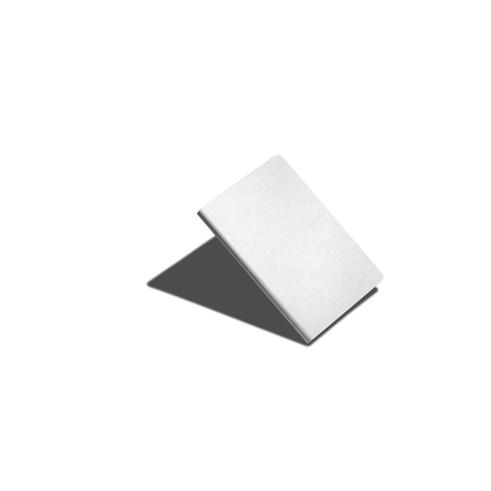 ZEQUENZ|360° 背靠背筆記本 (A5 /白色 /方眼內頁)