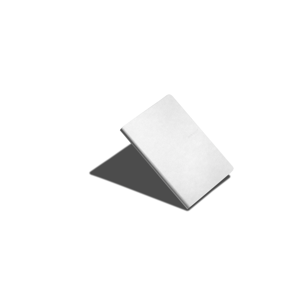 ZEQUENZ|360° 背靠背筆記本 (B6 (M) /白色 /橫線內頁)