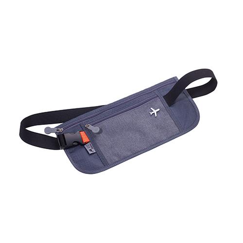 TROIKA   RFID NFC 屏障旅遊隨身包 (灰色)