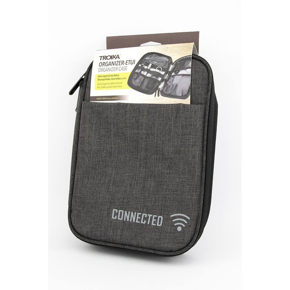 TROIKA   RFID & NFC 屏障 3C收納旅行登機包