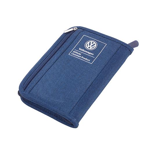 TROIKA|RFID 屏障旅遊護照卡夾包/日常卡夾包(藍色)