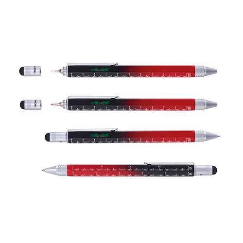TROIKA|多功能工具筆(紅黑色)