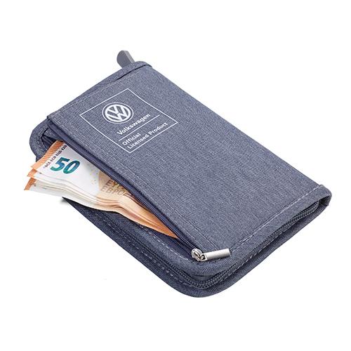 TROIKA|RFID 屏障旅遊護照卡夾包/日常卡夾包(灰色)