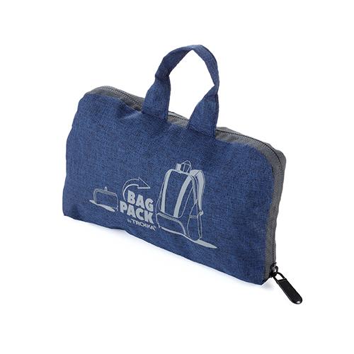 TROIKA 158公克超輕量摺疊收納背包(藍色)