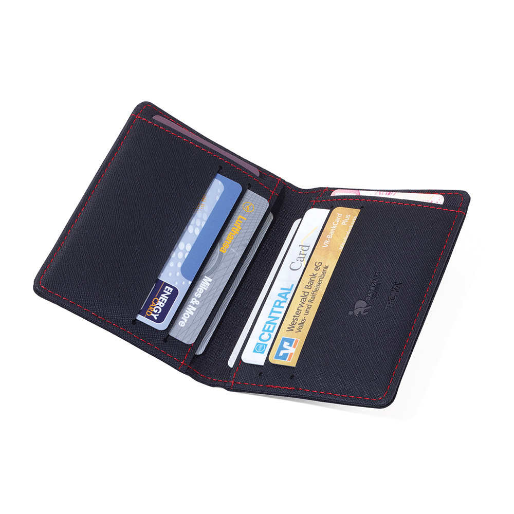 TROIKA | 32公克輕質單寧布RFID 屏障卡夾