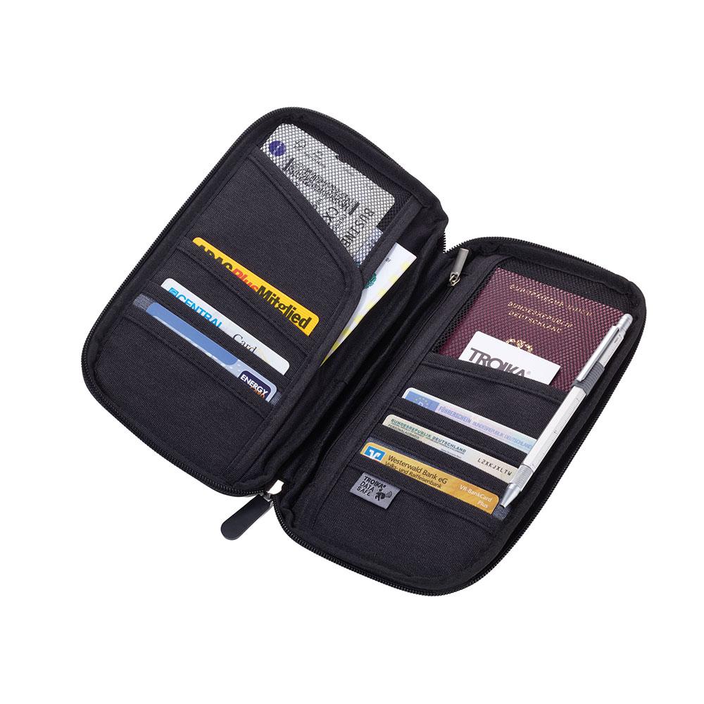 TROIKA | RFID屏障安全飛行隨身收納包(地圖款)