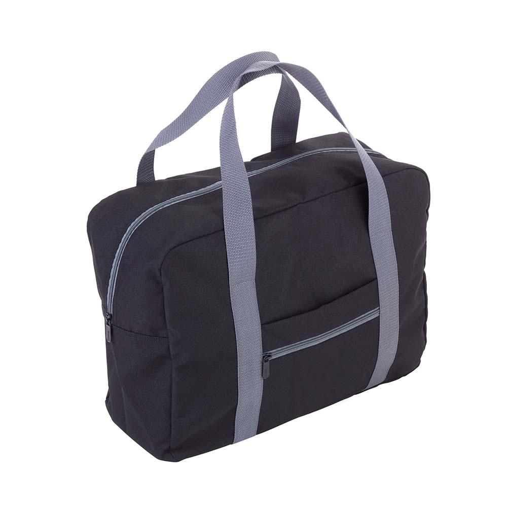 TROIKA | 快速摺疊收納旅行袋(黑色)