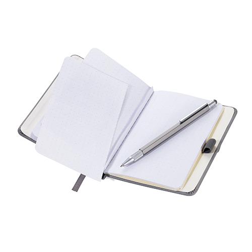 TROIKA|A6 隨手筆記本(含金屬書籤與觸控原子筆)