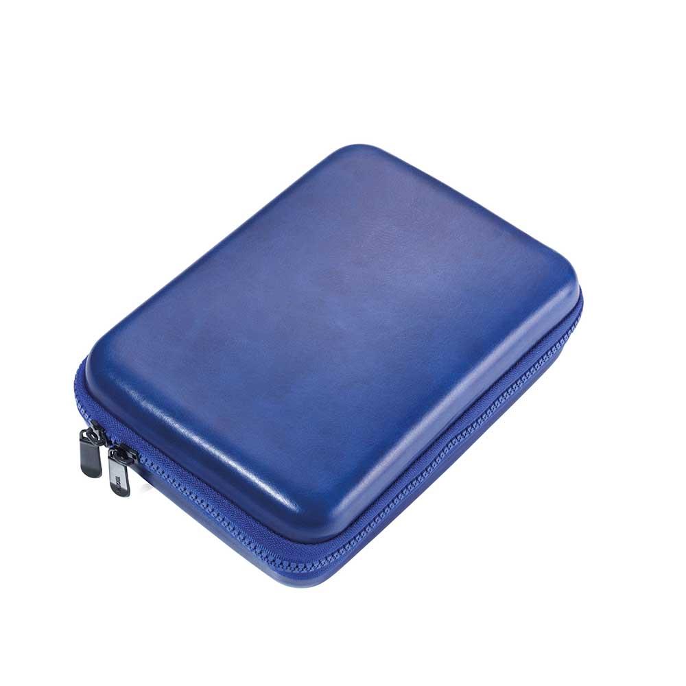TROIKA|硬殼皮革拉鍊收納盒
