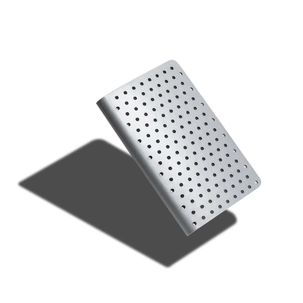ZEQUENZ|360° 背靠背筆記本 (A6 /銀色/點陣內頁)