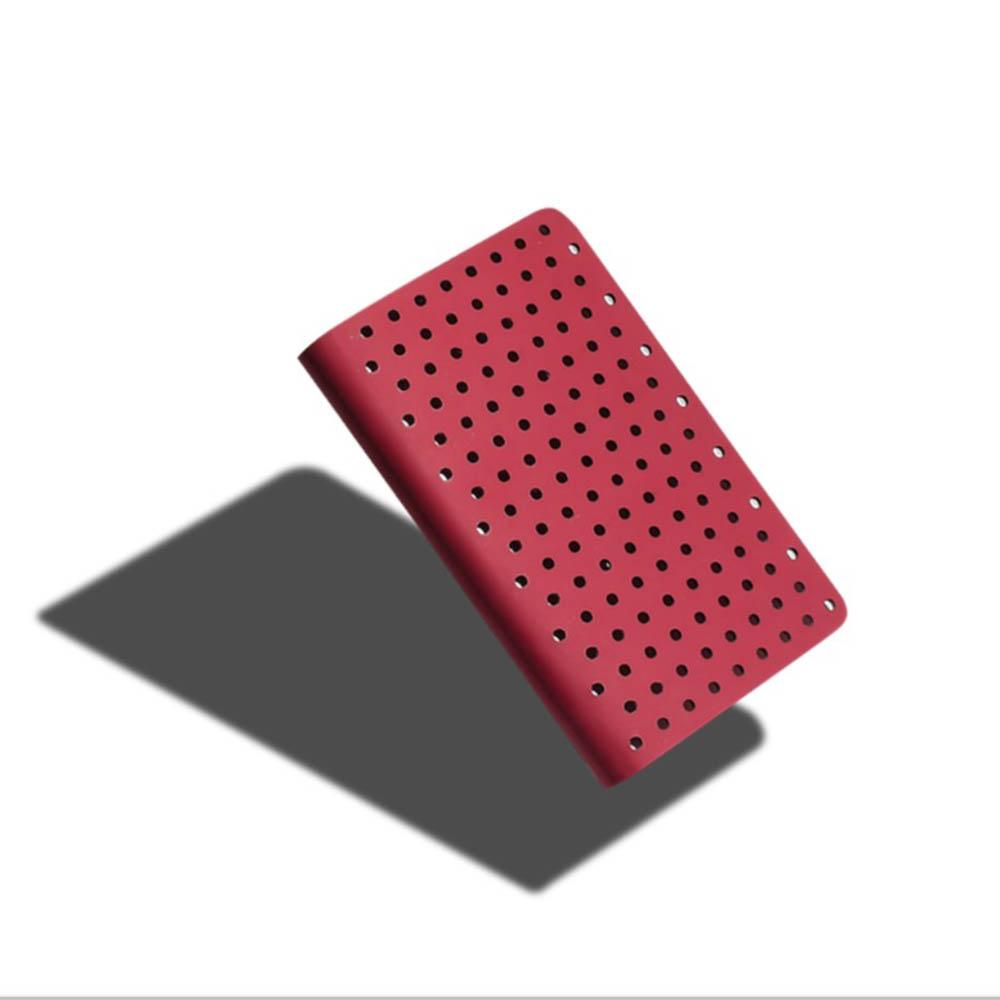 ZEQUENZ 360° 背靠背筆記本 (A6 /紅色/點陣內頁)