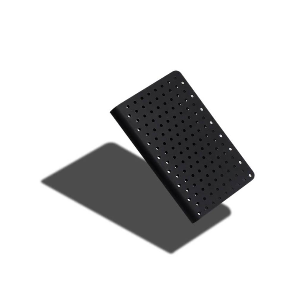 ZEQUENZ|360° 背靠背筆記本 (A5 /黑色/點陣內頁)