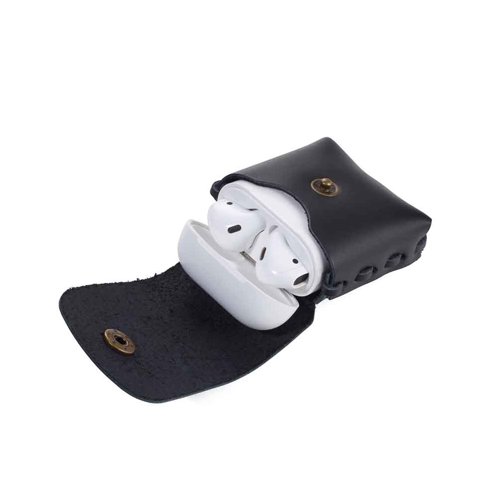 TROIKA 真皮藍芽耳機盒保護套