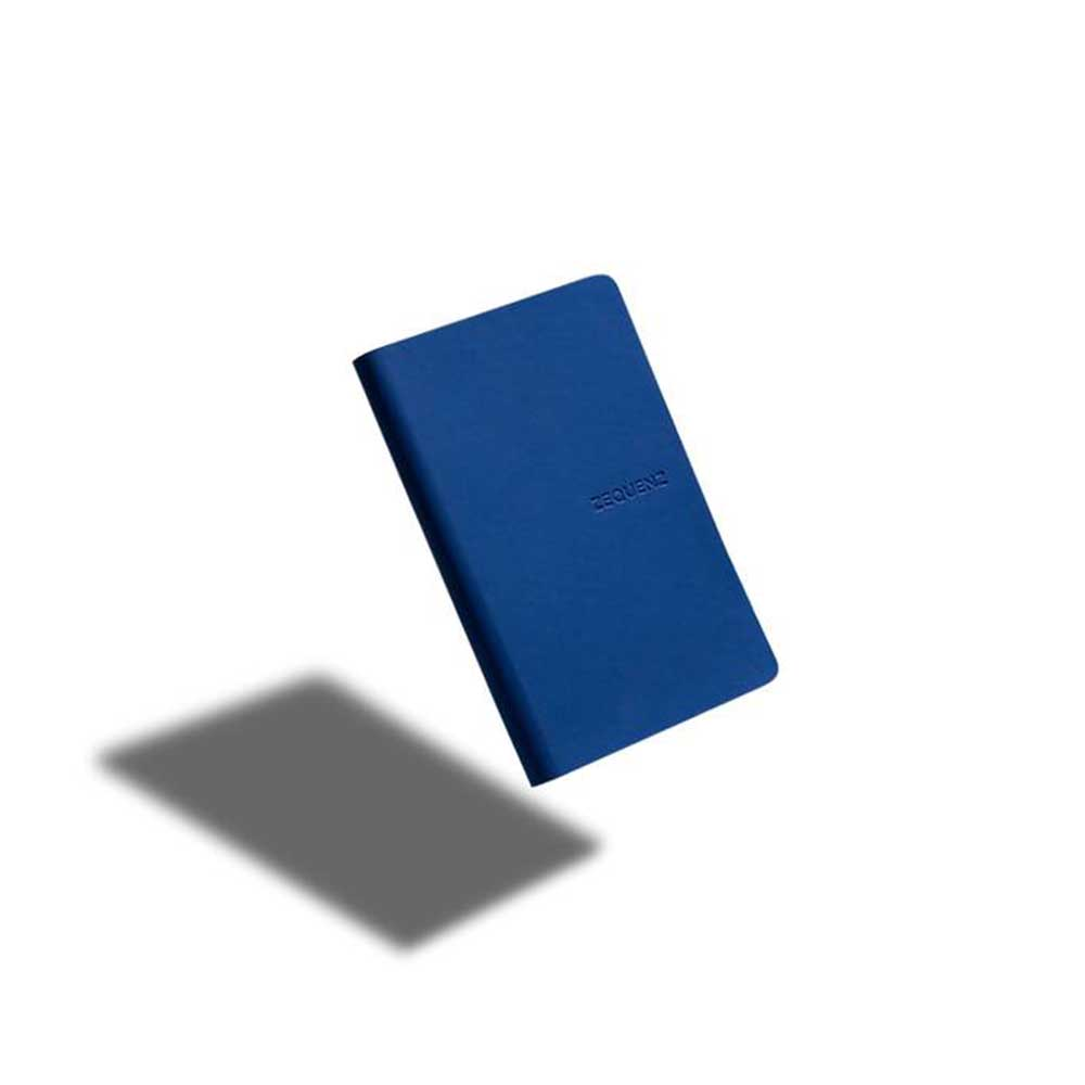 ZEQUENZ|360° 可捲曲筆記本/繽紛系列 (A6/皇家藍)