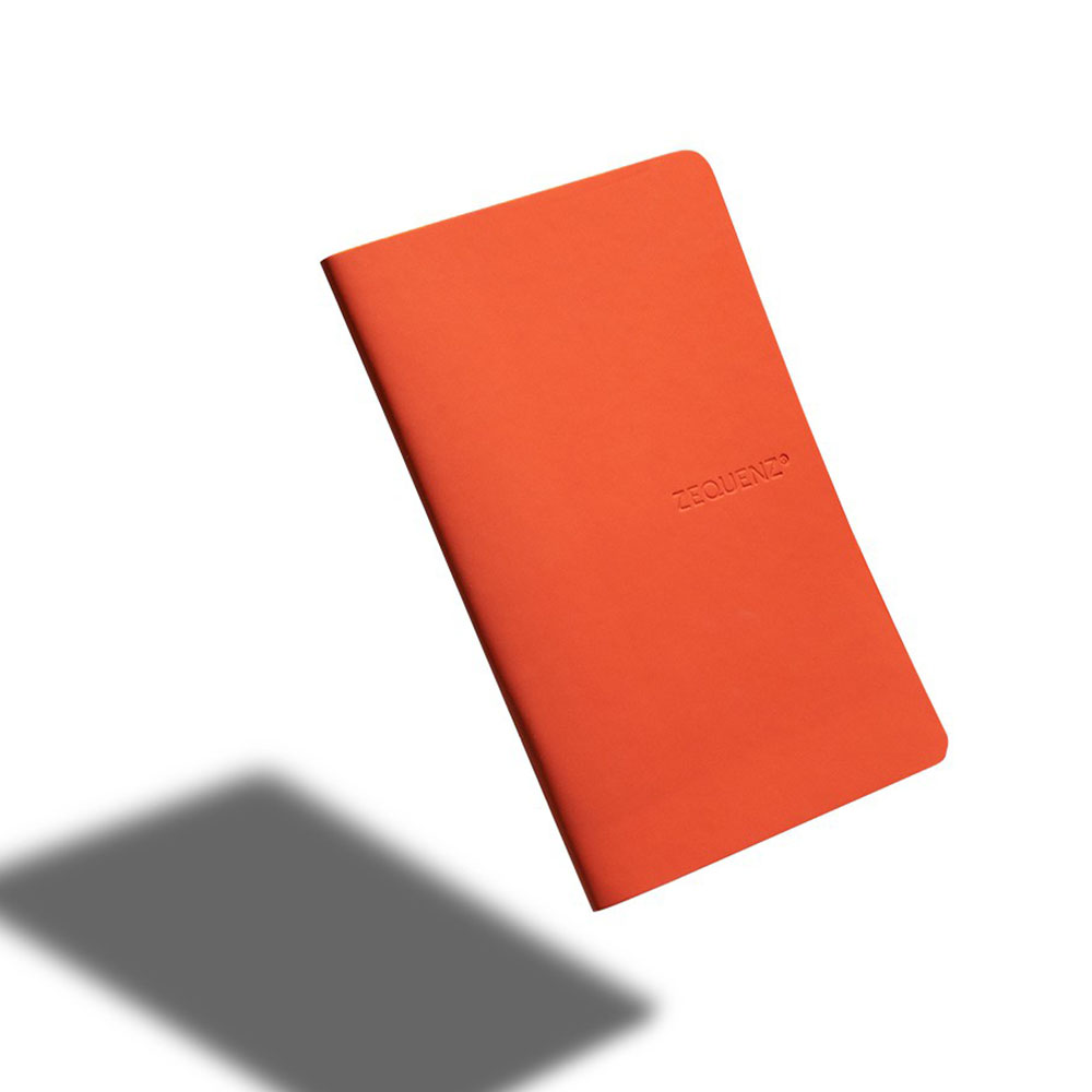 ZEQUENZ 360° 可捲曲筆記本/繽紛系列 (A6/橘色)