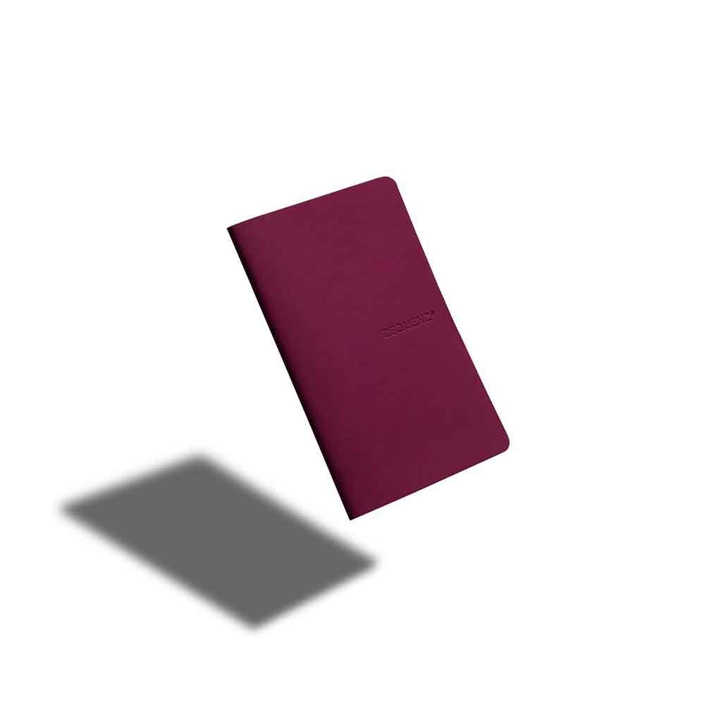 ZEQUENZ|360° 可捲曲筆記本/繽紛系列 (A6/莓果紅)