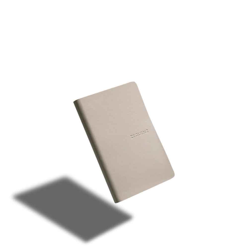 ZEQUENZ|360° 可捲曲筆記本/繽紛系列 (B6/米白色)