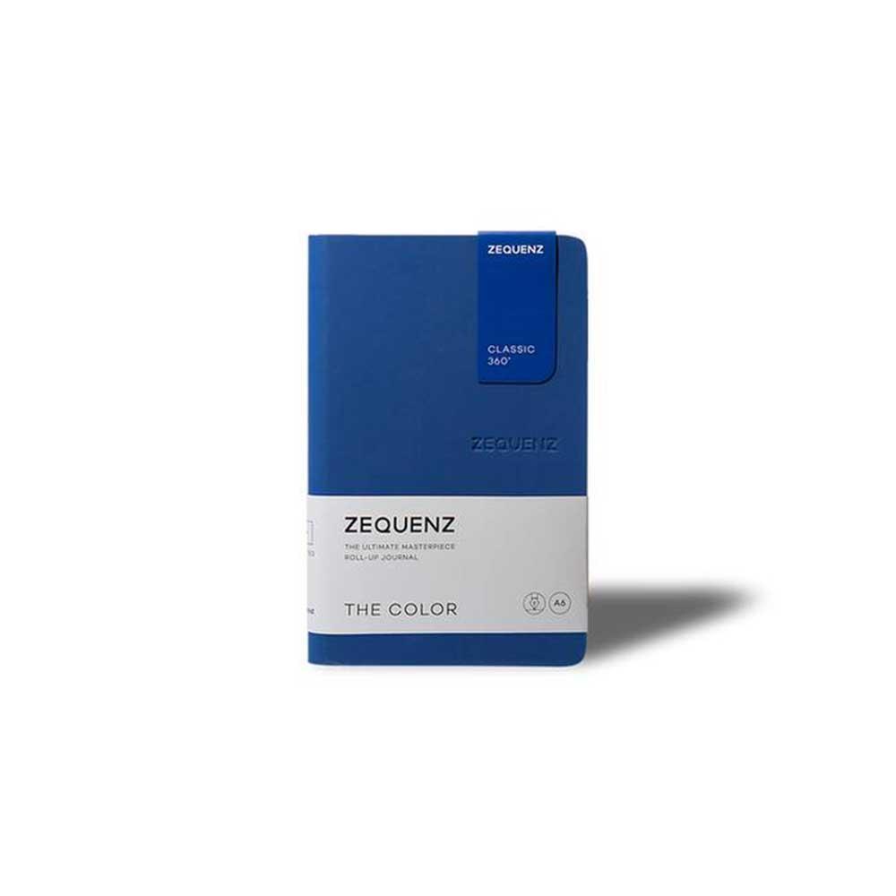 ZEQUENZ|360° 可捲曲筆記本/繽紛系列 (B6/深海軍藍)