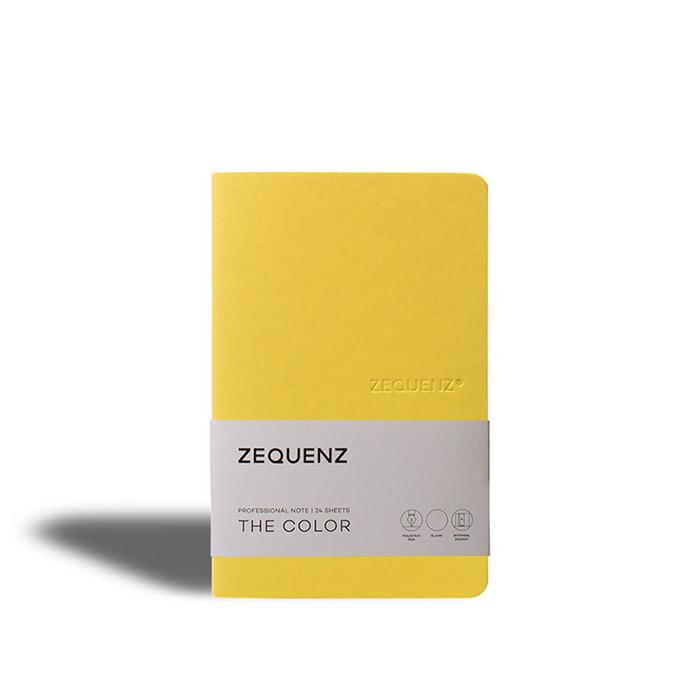 ZEQUENZ 360° 可捲曲筆記本/繽紛系列 (B6/芥末黃)