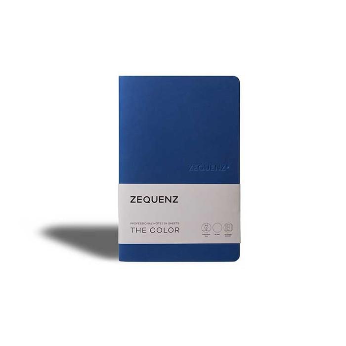 ZEQUENZ|360° 可捲曲筆記本/繽紛系列 (A5/皇家藍)