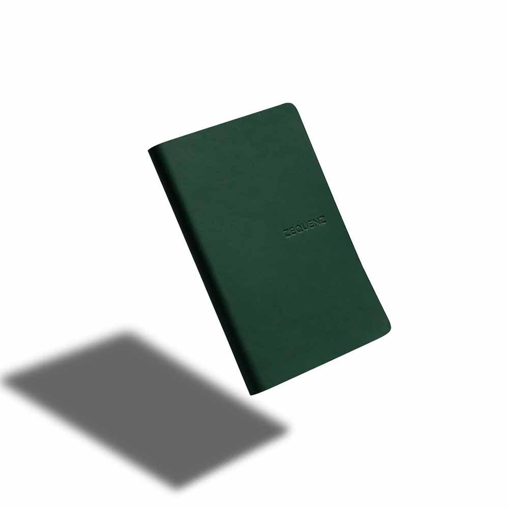 ZEQUENZ|360° 可捲曲筆記本/繽紛系列 (A5/祖母綠)