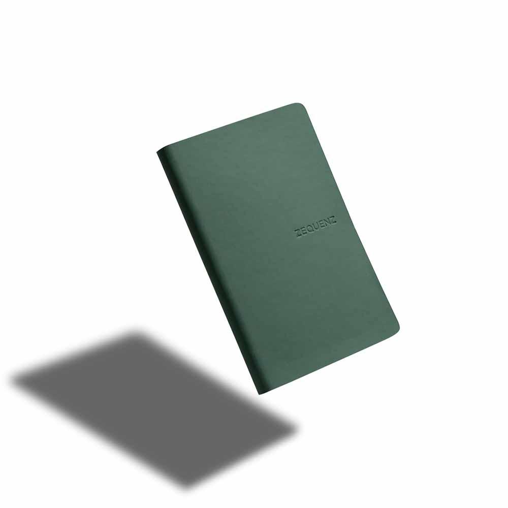 ZEQUENZ|360° 可捲曲筆記本/繽紛系列 (A5/翠綠)
