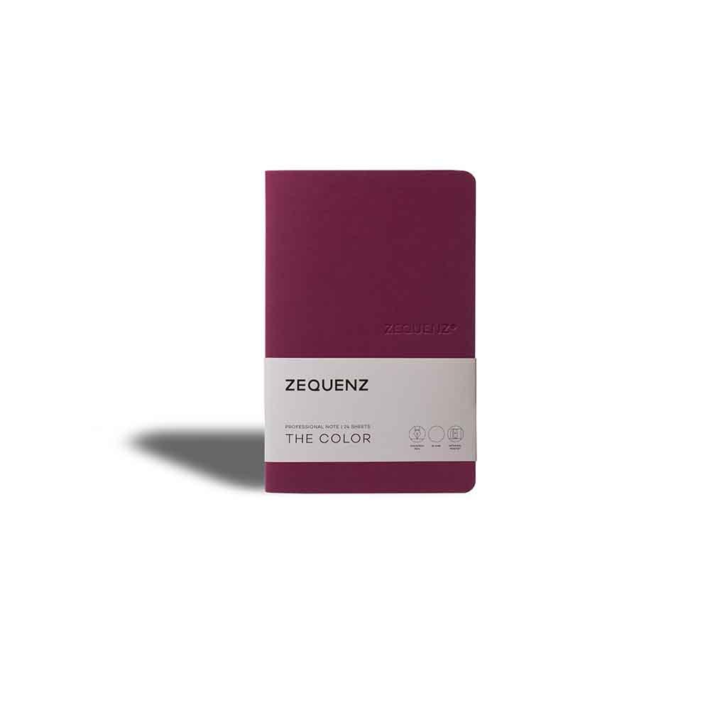 ZEQUENZ|360° 可捲曲筆記本/繽紛系列 (A5/莓果紅)