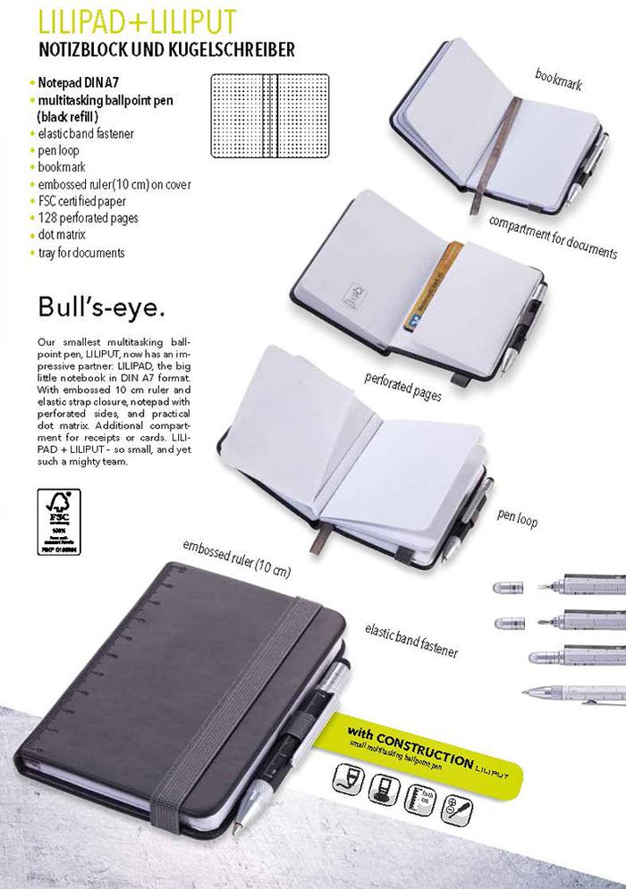 (複製)TROIKA|隨身寫筆記本(含迷你多功能工具筆)(黃色)