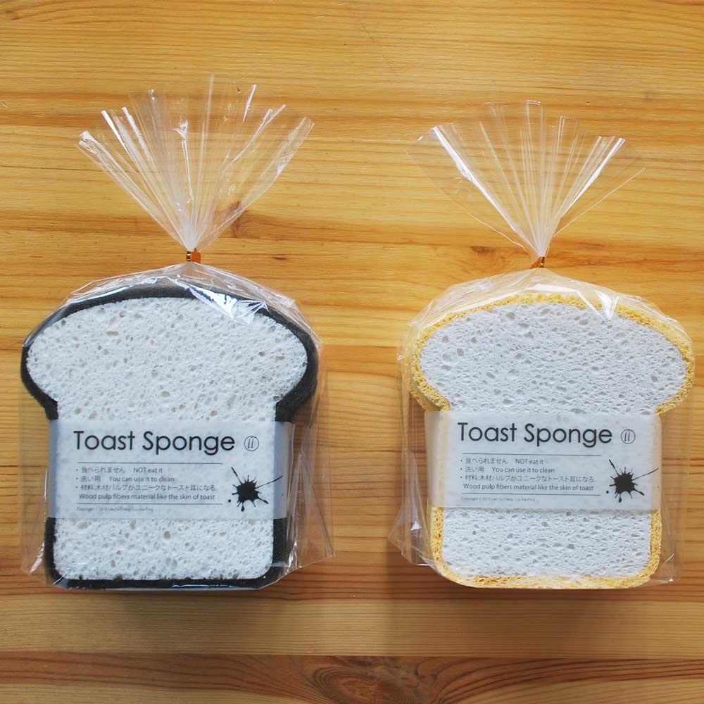 L&L Design|吐司海綿 Toast Sponge-4入(黑色)