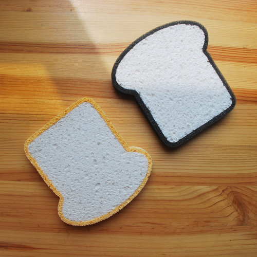 L&L Design|吐司海綿 Toast Sponge-1入(黃色)