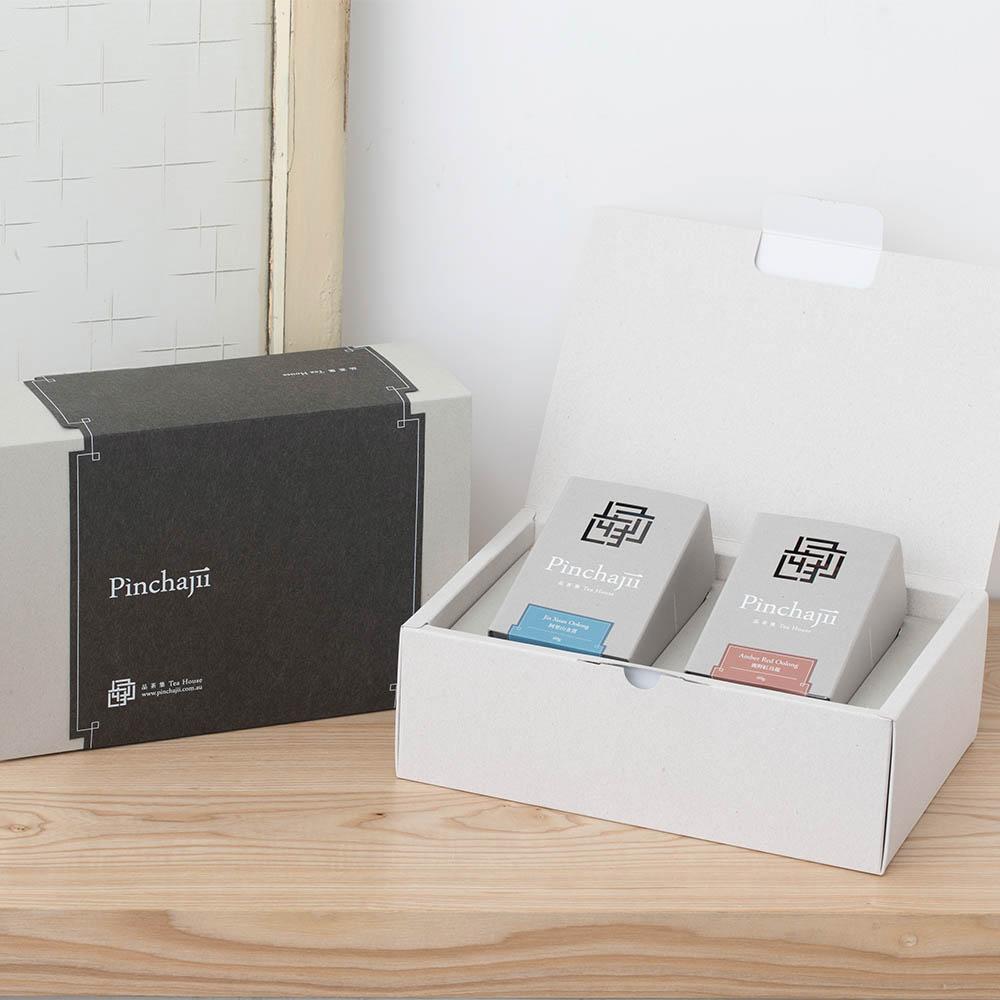 品茶集|雙茶禮盒