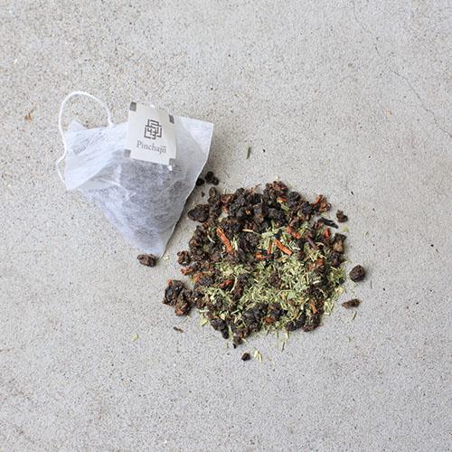 品茶集|自然複方系列-檸檬草紅茶3克袋茶10入裝