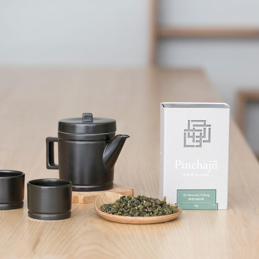 品茶集|經典產地系列-阿里山高山茶60克