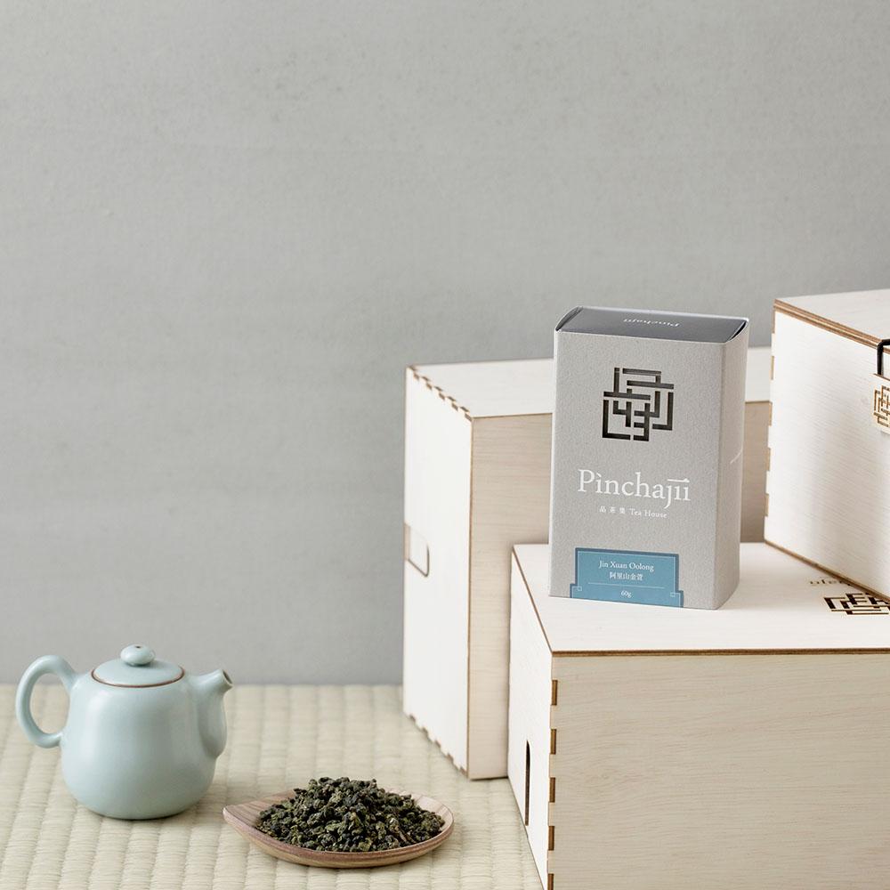 品茶集|經典產地系列-阿里山金萱60克