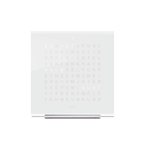 QLOCKTWO|桌鐘 壓克力玻璃經典款-Vanilla Sugar