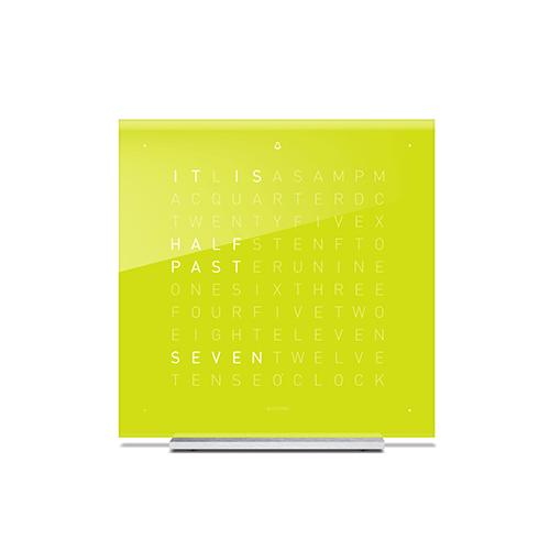 QLOCKTWO|桌鐘 壓克力玻璃經典款-Lime Juice