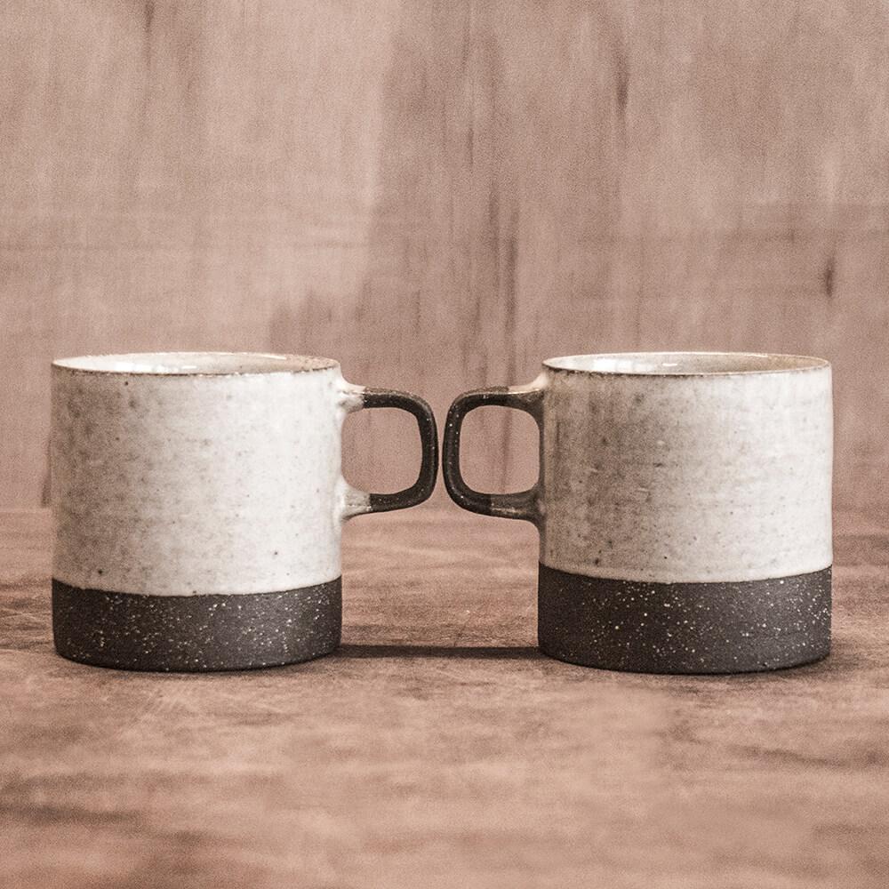 上作美器 無我雙色咖啡杯雙人組