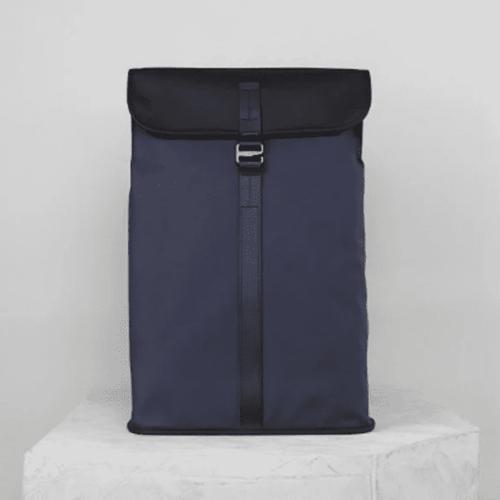 Topologie|Satchel防潑水系列長方形背包 藍
