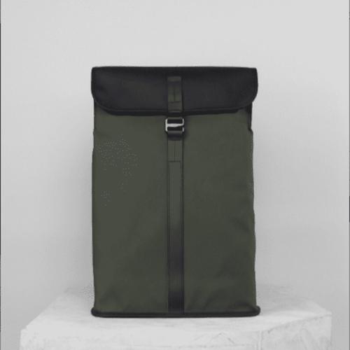 Topologie|Satchel防潑水系列長方形背包 綠