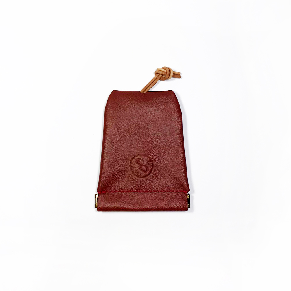 DUAL|大容量彈口鑰匙包 (大) - 荔枝紅