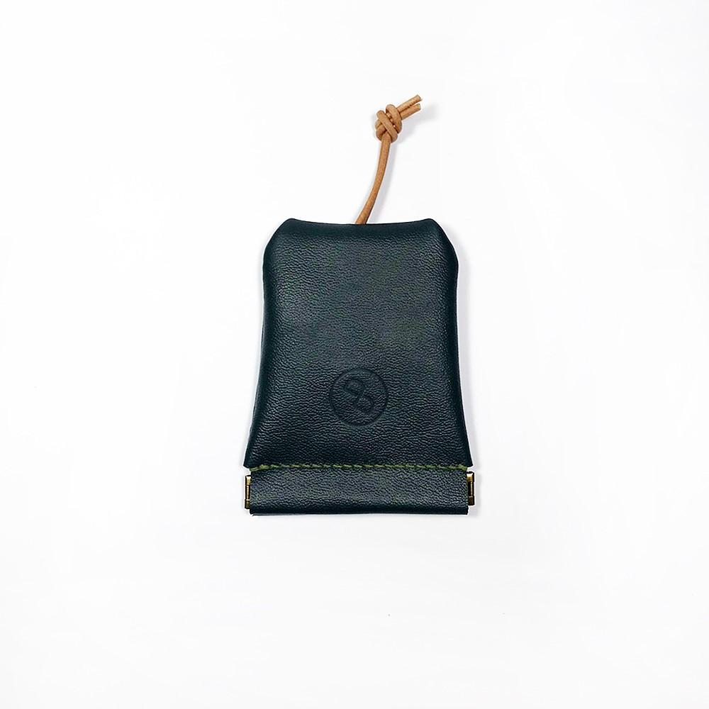 DUAL|大容量彈口鑰匙包 (大) - 綠