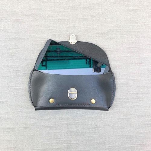 DUAL|紳士腰間手機包 (iphone) - 沉穩黑