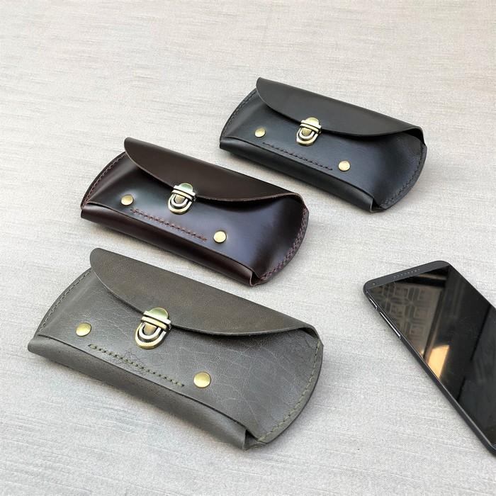 DUAL | 紳士腰間手機包 (iphone) - 沉穩黑