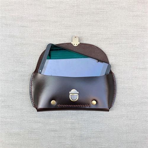 DUAL|紳士腰間手機包 (iphone) - 紳士咖啡