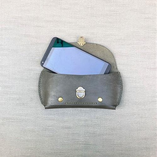DUAL|紳士腰間手機包 (iphone) - 開運綠