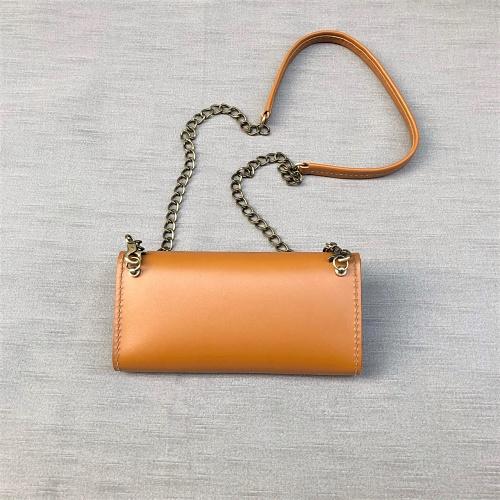 DUAL|淑女斜背小包 - 奶油棕